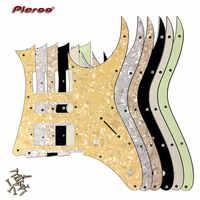 Pleroo Custom Gitarre Teile-Für MIJ Ibanez RG 350 DX Gitarre Schlagbrett HSH Humbucker Pickup Scratch Platte