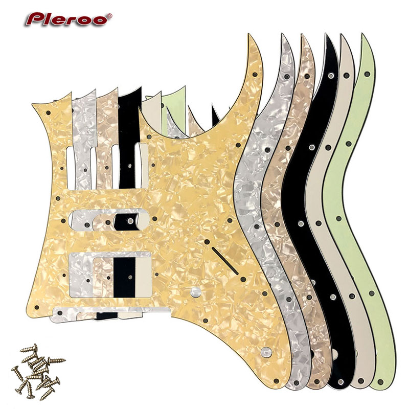 Pleroo Custom Guitar Parts-Para Ibanez RG 350 DX MIJ Guitarra Placa Zero  Pickguard HSH Humbucker Captador