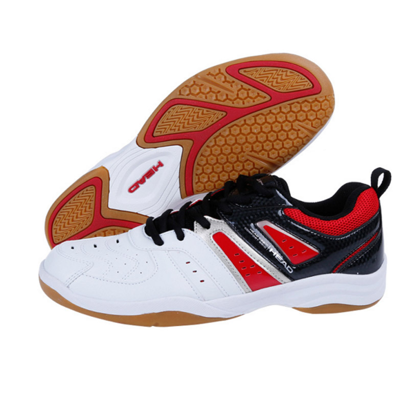 HEAD Badminton Shoes For Men Anti-Slippery Sport Sneakers Brand Table Tennis Shoes Men Breathable Top Quality Badminton Shoes peak sport speed eagle v men basketball shoes cushion 3 revolve tech sneakers breathable damping wear athletic boots eur 40 50