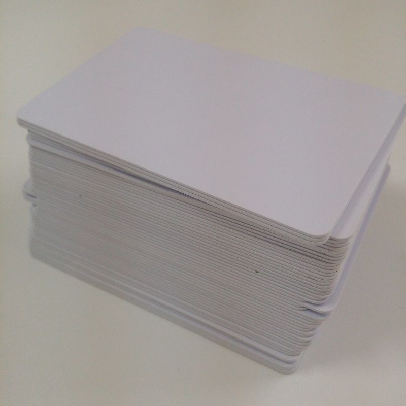 1000 pcs/lot RFID frequency 13.56MHz Contactless IC PVC Card Read and write smart card for access control system