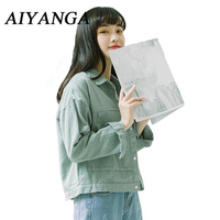 Trench Coat 2018 Spring Autumn Women Coats Loose Casual Short Style Single Breasted Overcoats Korean Double