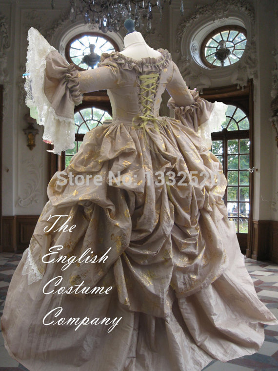 The Ultimate Rococo Marie Antoinette Dress Colonial Georgian 18th ...