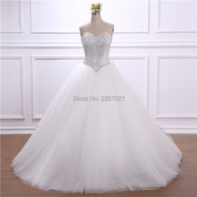 Floria Ball Gown White Ivory Wedding Dresses Bridal Gowns