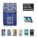 PU Кожаный Чехол Стенд P8 Case для Lenovo Tab 3 8 Плюс TB-8703 TB-8703F TB-8703N (Tab3 8 Плюс) 8 Дюймов Планшет С Новогодний Подарок