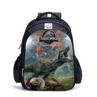 쥬라기 세계 어린이 학교 배낭 공룡 배낭 어린이 어깨 배낭 선물 가방 mochilas infantil