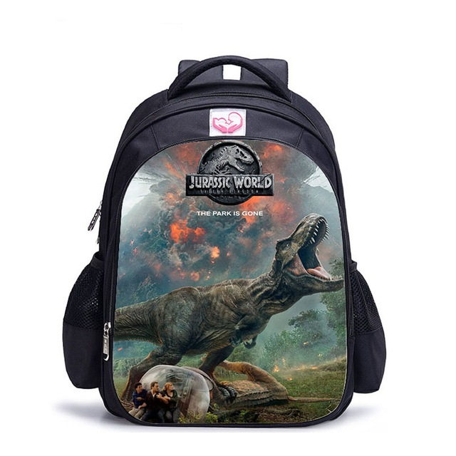 Jurassic World Children School Backpacks Dinosaur Backpack Children Shoulder Backpacks Gift Bag Mochilas Infantil