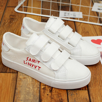Shoes Woman Canvas Sneakers Shallow Spring Autumn Solid White Sneaker Female Shoes Zapatillas Mujer Platform Sneakers