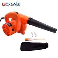 GOXAWEE 220V Electric Air Blower 6 Speed Control Home Vacuum Hand Turbo Fan Computer Car Dust Cleaner Collector Blowing Remover