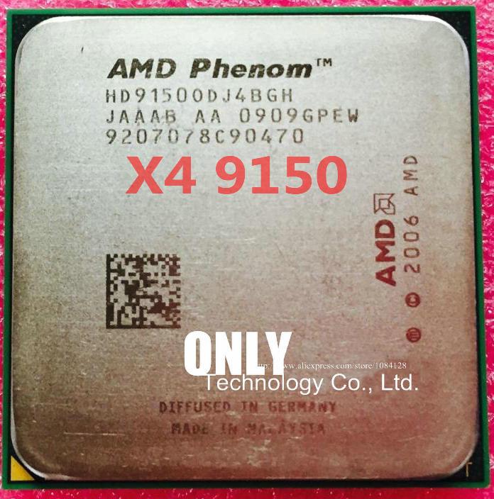 FREE SHIPPING AMD Phenom X4 9150 CPU Processor Quad-CORE (1.8Ghz/ 2M /65W / 2000GHz) Socket Am2+