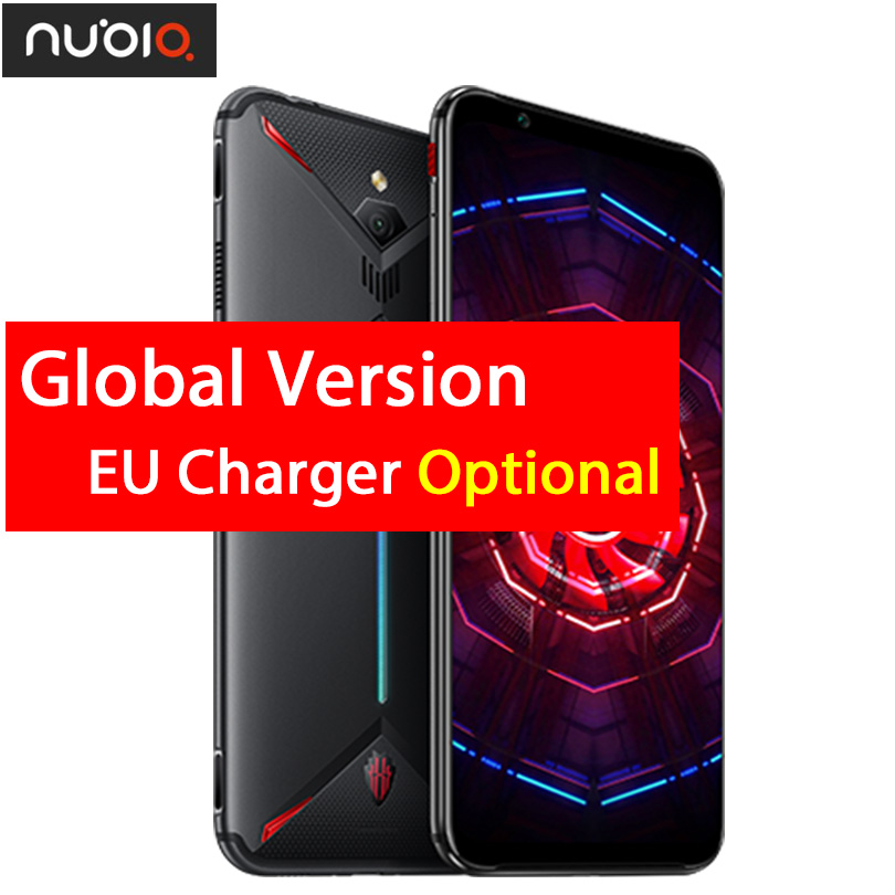 """Original ZTE nubia Red Magic 3 Mobile phone 6.65"""" Snapdragon 855 Octa core Front 48MP Rear 16MP 8GB 128GB 5000mAh Game Phone-in Cellphones from Cellphones & Telecommunications    1"""