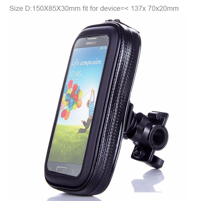 Bicycle Bike Mobile Phone Holder Waterproof Touch Screen Case Bag For Motorola Moto Z2 Force/Moto X4/X(2017),Doogee Mix Lite