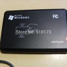 125 кГц черный USB датчик приближения Смарт rfid считыватель id карт EM4100, EM4200, EM4305, T5577, или совместимые карты/метки не нужен драйвер