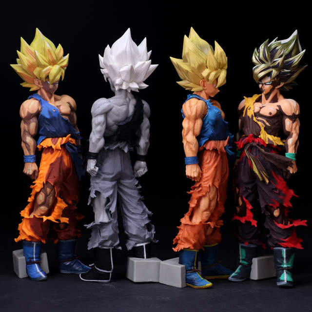 Smsp Big Size Special Anime Paint Color 14 35cm Dragon Ball Z