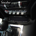 Smabee Door Groove Mat For  2015-2016 Ford Mustang Accessories Gate slot pad Automotive interior Anti-Slip  12pcs