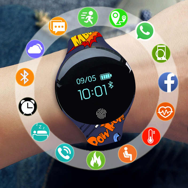 New Smart Watch Children Kids Watches For Girls Boys Wrist Watch Electronic LED Digital Wristwatch Child Clock Hours With Gifts