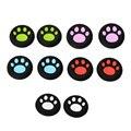 2ピースユニバーサル猫ポウアナログシリコンサムスティックジョイスティックカバーグリップキャップソニーのプレイステーション2用ps2用ps3用ps4用xbox