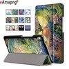PU Leather Case For Lenovo Tab 4 8 Plus 8 0 Inch Folding Folio Magnetic Sleep