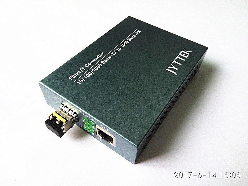 10/100/1000 M, SFP Fiber Media Converter, Double fiber ALIMENTATION Externe 60 KM 1550NM LC10/100/1000 M, SFP Fiber Media Converter, Double fiber ALIMENTATION Externe 60 KM 1550NM LC