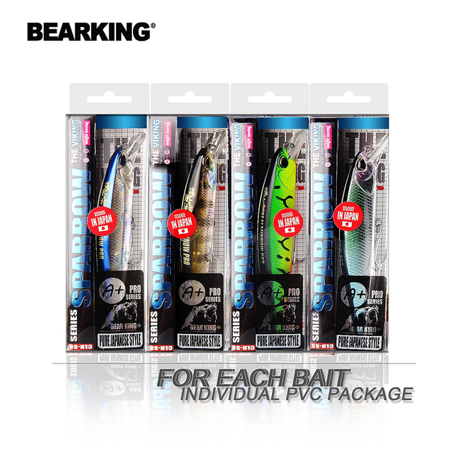 Awesome No1 Bearking hot model fishing lures hard bait Fishing Lures cb5feb1b7314637725a2e7: A|B|C|D|E|F|G|H|I|J|K|L|M|N