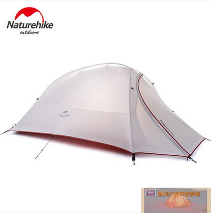 NH ultra light single person rainproof outdoor climbing camping tent double layer storm four seasons high quality outdoor 2 person camping tent double layer aluminum rod ultralight tent with snow skirt oneroad windsnow 2 plus