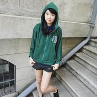 Attack on Titan Jacket / Coat / Hoodie scouting legion Cloak men women Clothing anime cosplay costume Allen bat wing cape