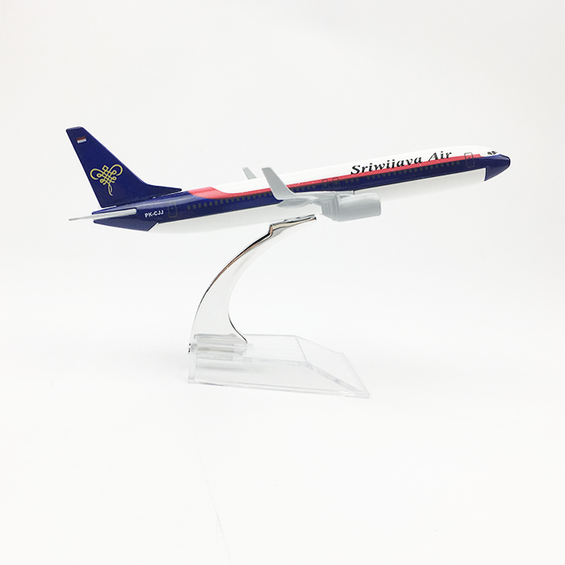 Sriwijaya Air Aeroplane model Boeing 737 airplane 16CM Metal alloy diecast 1:400 airplane model toy for children Free shipping