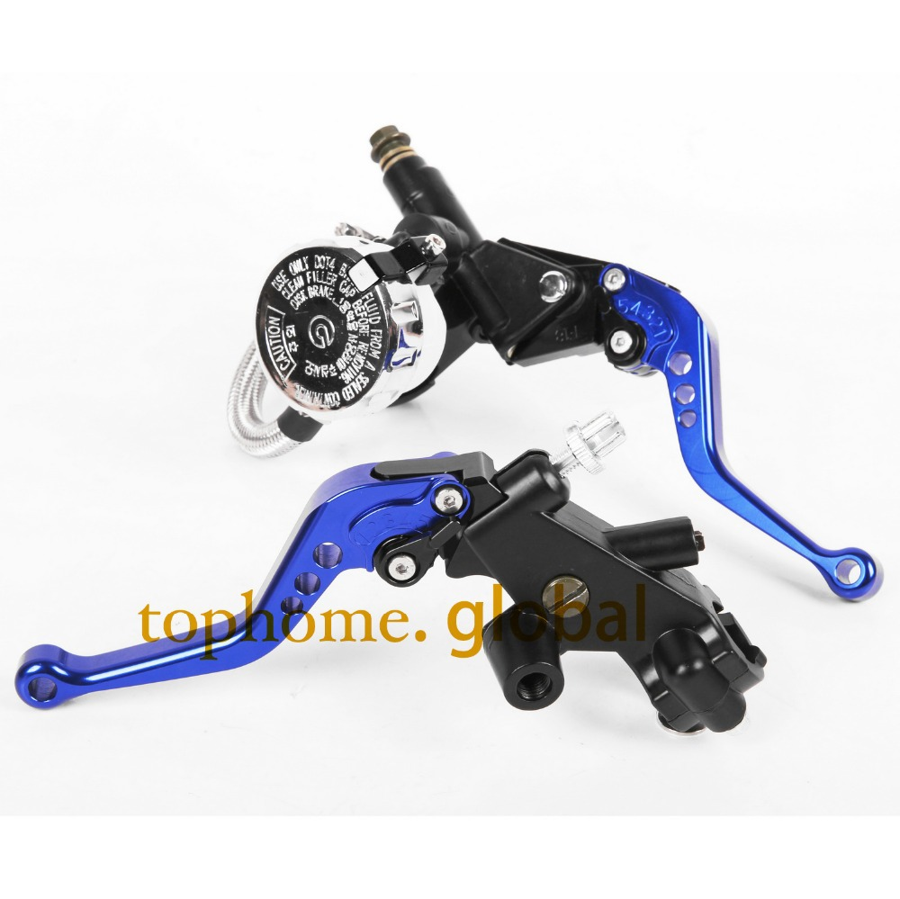 CNC Front Brake Master Cylinder&Clutch Brake Levers 7/8with Adjustable Fluid Reservoir For Yamaha YZF R6 1999-2000 2001-2004 motorcycle racing cnc adjustable brake master cylinder fluid reservoir levers kit green 7 8 22mm for 1999 2000 2001 2002 2003 ducati monster m400