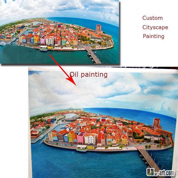 Custom-cityscape-oil-painting