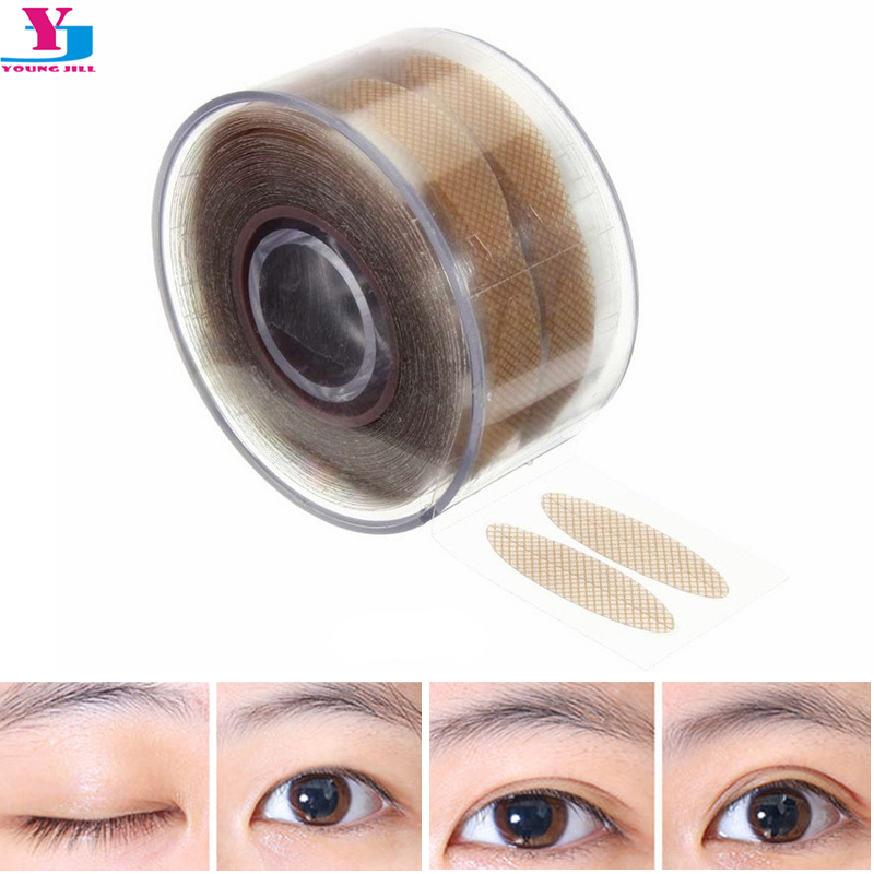 New Hot 600pcs Stealth Double-Fold Eyelid Shadow Sticker Instant Eye Lift Double Eyelid With Beautiful Eye Allergy Eyelid Tools