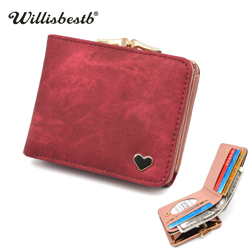 New Woman Wallet Small Hasp Coin Purse For Luxury Brand Lady Purses Female Wallets Women Mini Leather Clutch Card Holder #1