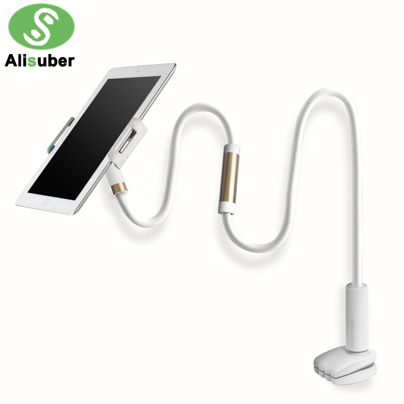 Alisuber 120CM Long Arm Lazy Phone Stand Holder Flexible Desk Bed Phone Stands Mount 360 Rotate Tablet Bracket Holder for ipad