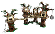 NOUVEAU LEPIN Star Wars Ewok Village Figure Modèle Enfants Blocs de Construction Jouets Set Marvel Compatible Legoe