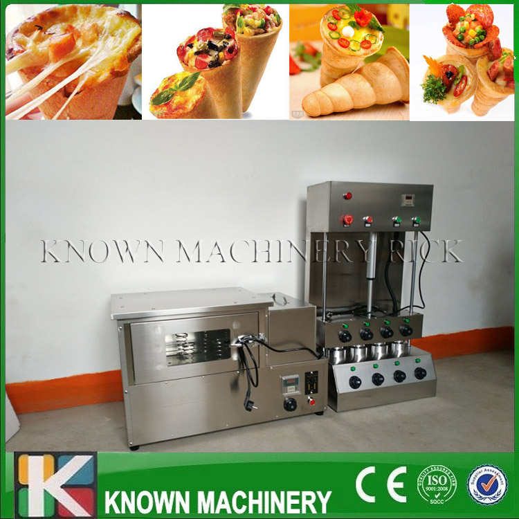 The best selling 304 stainless steel Pizza Cone&Oven Maker/Making Machine commercial used easy operation kono pizza cone making machine 2400w umbrella cone pizza 110v 220v stainless steel material