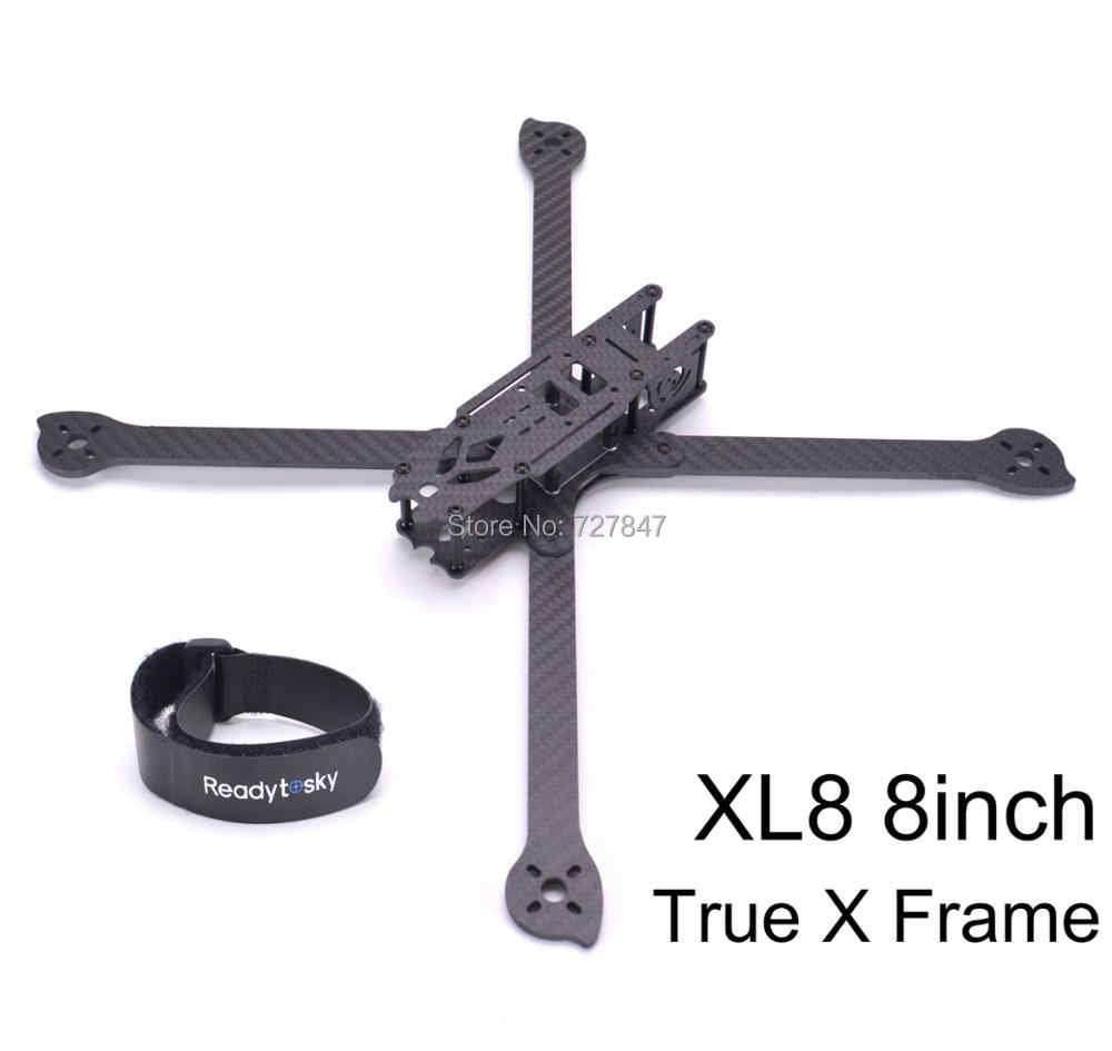 3 K Full Carbon Fiber True X XL8 360mm 8 inch w/4mm arm FPV Freestyle Frame voor FPV Racing Quadcopter