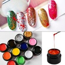 5ml Nail Spider Gel Nail Art Elastic Liner Flower Drawing Color Painting Creative Soak Off Gel Spider Varnish Nail Tips Manicure цена