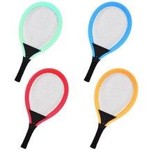 Высокое качество 1 пара уличная спортивная Теннисная ракетка для бадминтона набор родитель-ребенок спорт развивающие игрушки Детский спорт