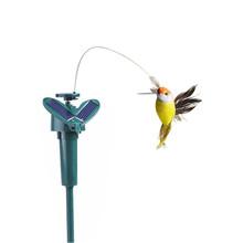 Dom ogród lampa słoneczna imitacja ptaka energia słoneczna taniec latający fruwające imitacja ptaka dekoracja ogrodowa lampa ptaków tanie tanio MUQGEW Ni-mh 1 2 v Żarówki led Nowoczesne IP65 Brak NONE SOLAR solar lights