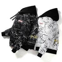 Для мужчин зимние прилив новый бренд Двусторонняя утолщенный теплый хлопок Для мужчин молодых Для мужчин s Зимние пальто и куртки куртка с к