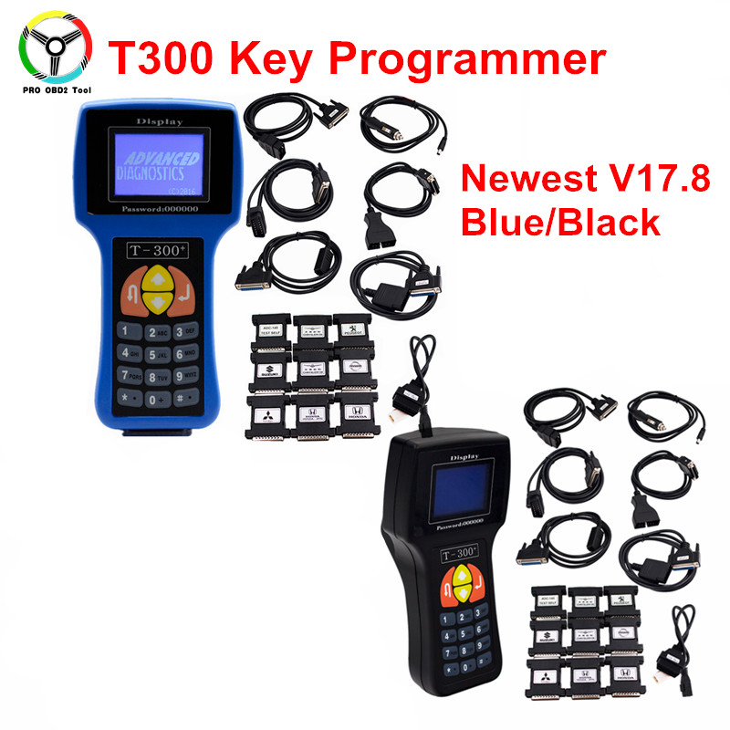 2017 Newest T300 Auto Key Programmer T 300 T-300 V17.8 Car Key Maker Optional T Code Programmer Tools with English /Spanish lego lego city 60129 лего сити полицейский патрульный катер