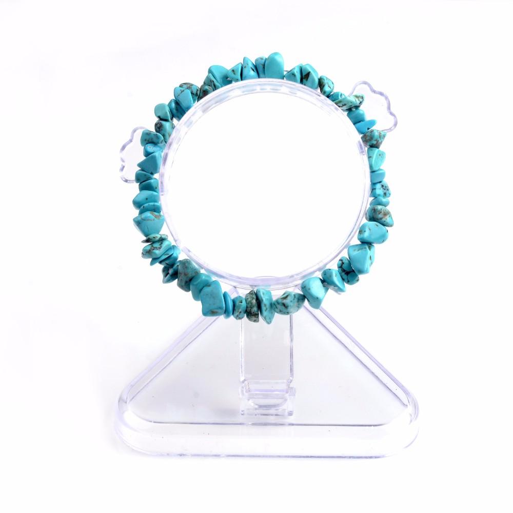 Summer Bracelet Multicolor Natural Stone Chips Single Strand Women Bracelets Tiger Eye Reiki Lovers Gift 3