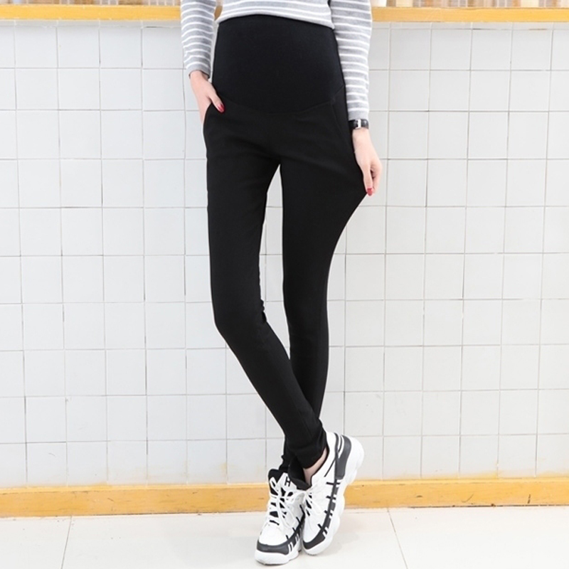 138512a238d2a Maternity Pants Autumn Long trousers Maternity Clothing Maternity Legging  Slim Pencil Pants Black Maternity Clothes 2018 New-in Pants & Capris from  Mother ...