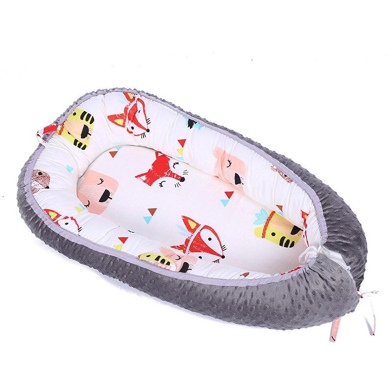 3D dot fox flèche animaux de bande dessinée détachable portable matelas bébé berceau co-dormeur bébé lit nouveau-né sommeil nid bébé sommeil nid