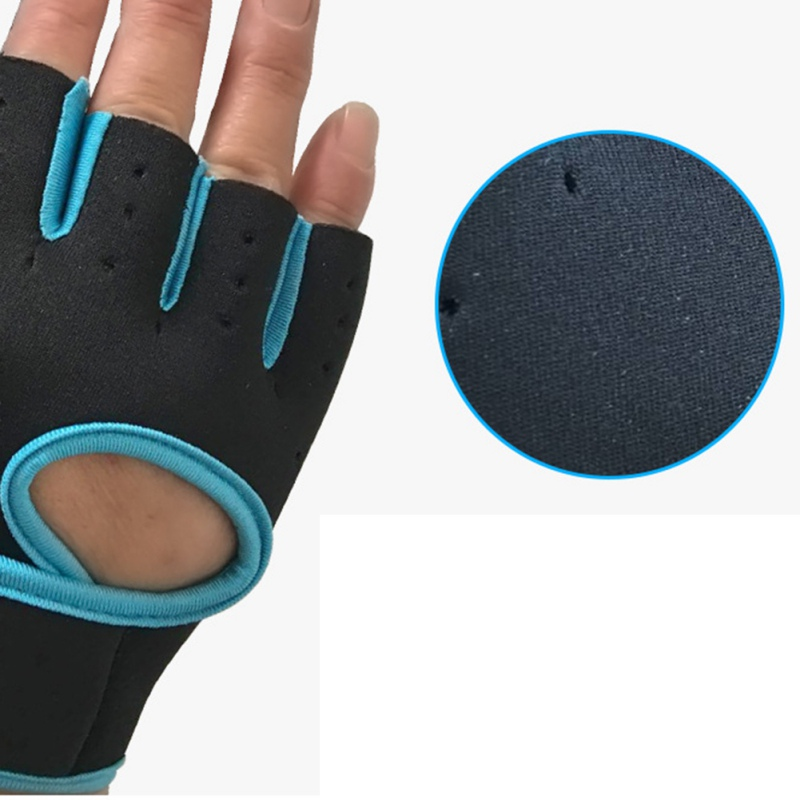 Cycling Half Finger Gloves Sports Breathable Riding Gloves Gym Training 2018 Fitness Riding Equipment