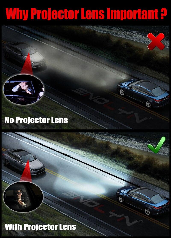 luzes do carro acessórios retrofit uso h1 lâmpadas