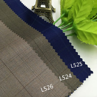 Autumn And Winter Clothing Fashion Fabric Of Wool And Polyester Plaid Suit Cloth Coat Pants Thickened