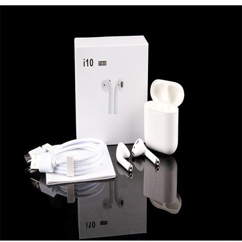 I10 Wearpai TWS bluetooth/écouteur Mini casque écouteur sans fil contrôle tactile intégré Microphone boîtier de charge avec éclairage