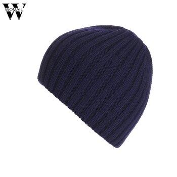 Fashion Winter Warm Beanie Caps Men Women Snow  Knitted Hats Skullies Gorro Amazing High Quality winter solid hat