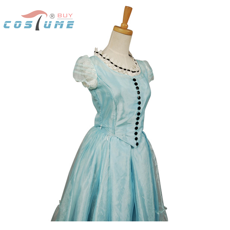 все цены на Tim Burton Costume Alice In Wonderland Alice Dress Cosplay Costumes For Women Halloween Party Carival Costume