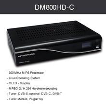 DM800 HD PVR Pvr dvb-c Receptor de Cable cable REV M PVR Receptor de Satélite Digital BL84 SIM2.01 Newdvb 800hd Pro Envío Libre