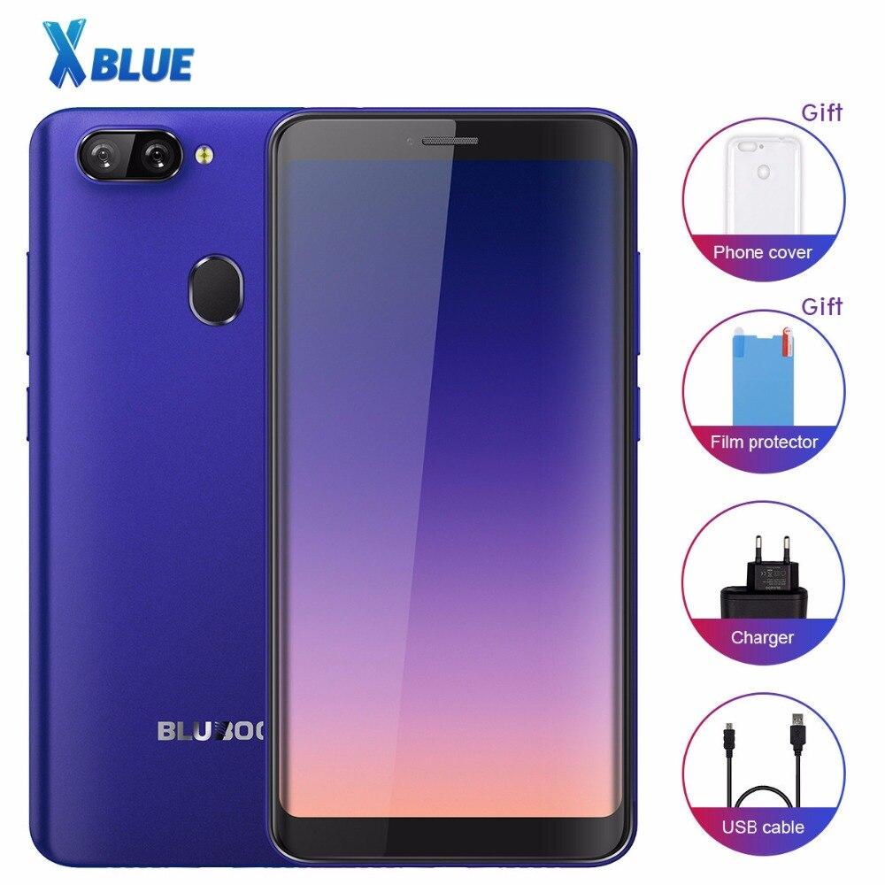Bluboo D6 D6 PRO Smartphone Android 8 1 Quad core 5 5inch Fingerprint 2GB 16GB Dual